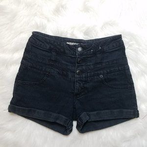 Mossimo Joiners size 1 Black shorts